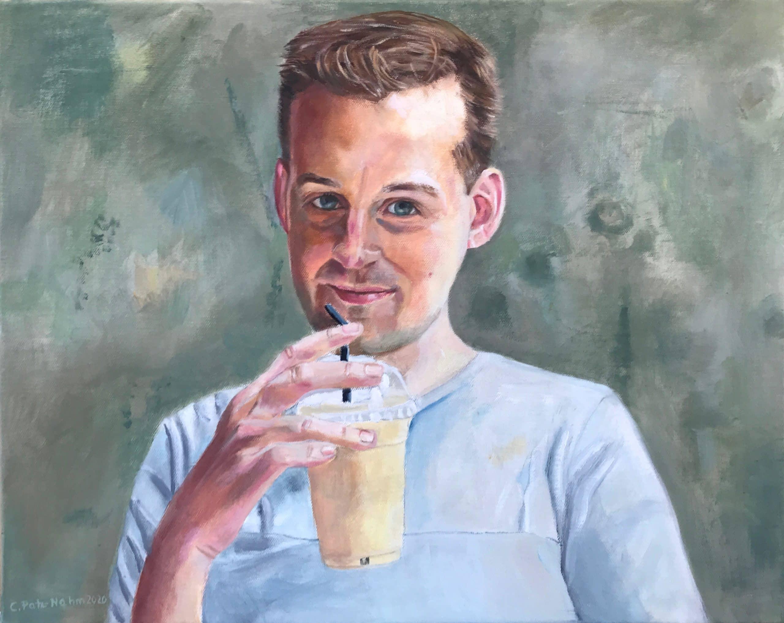 Jason, 40x50cm, Öl auf Leinwand